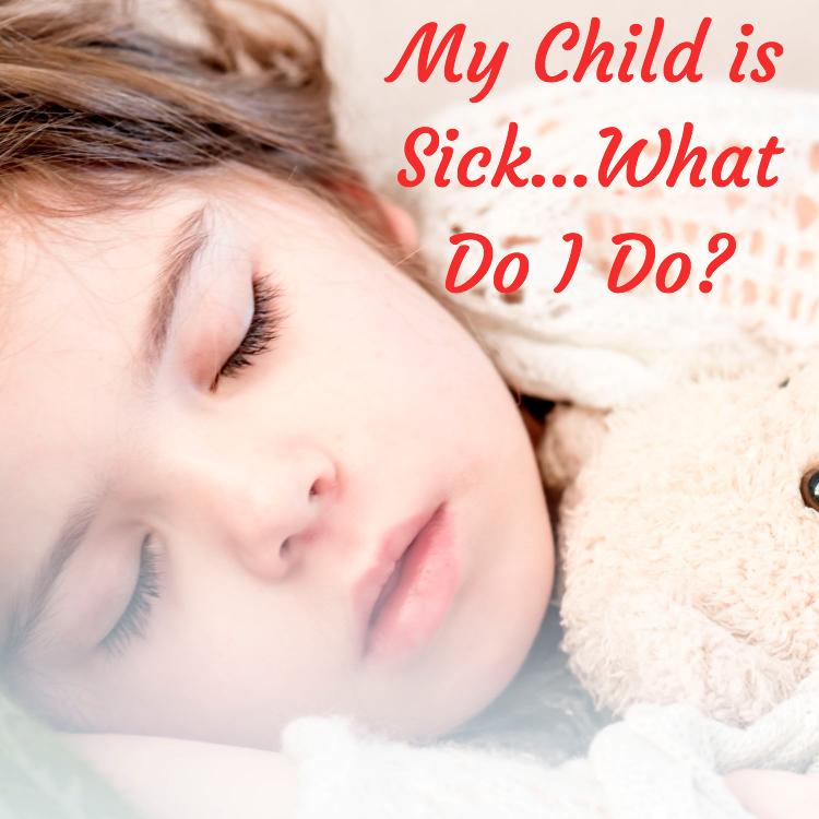 child, sick, natural, remedies
