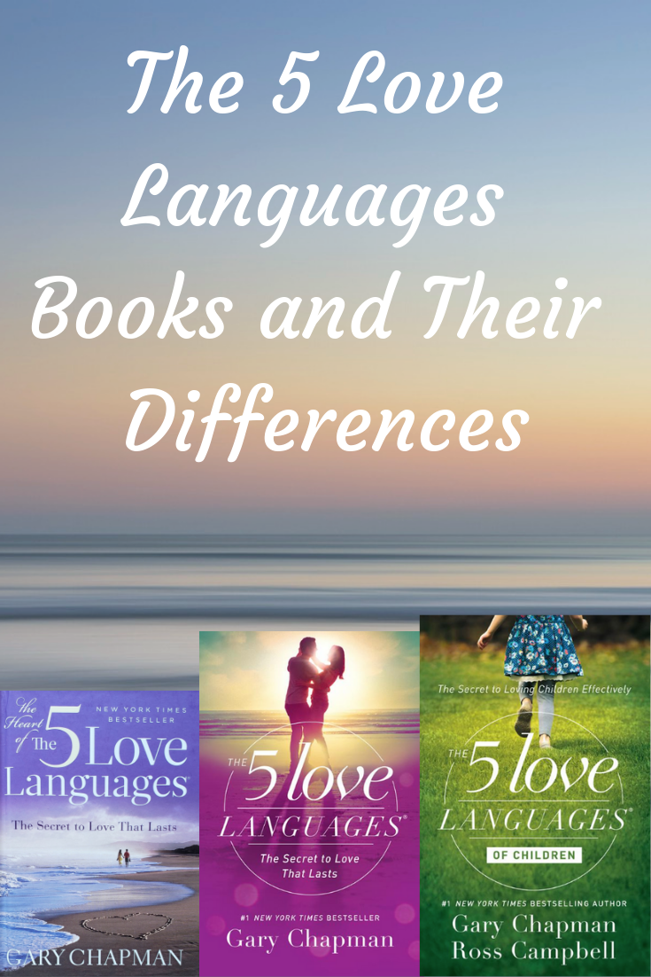 5 love languages books. differences