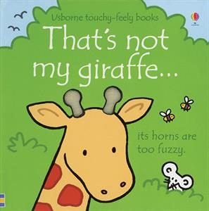 That's not my giraffe, touchy-feely book, babies, toddlers, usborne books & more