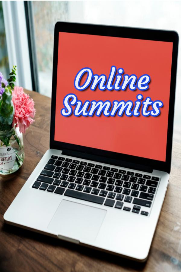List of Online Summits