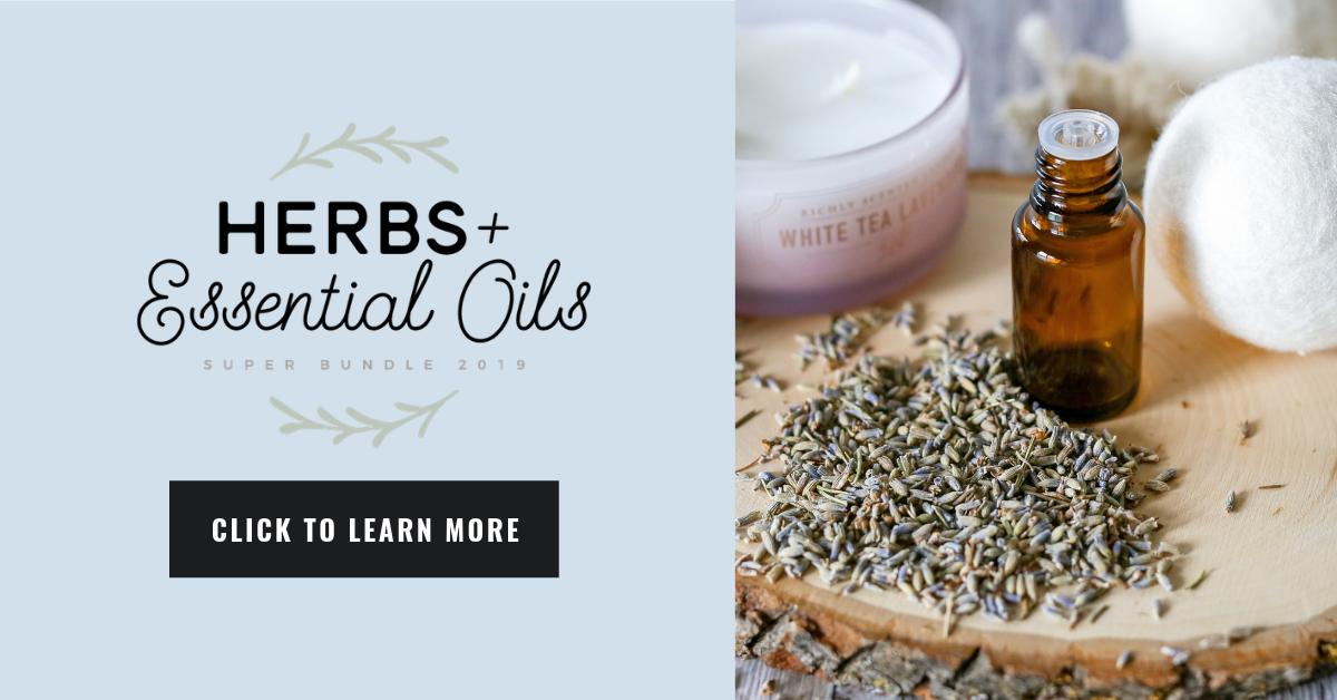 herbs, essential oils, resources, bundle