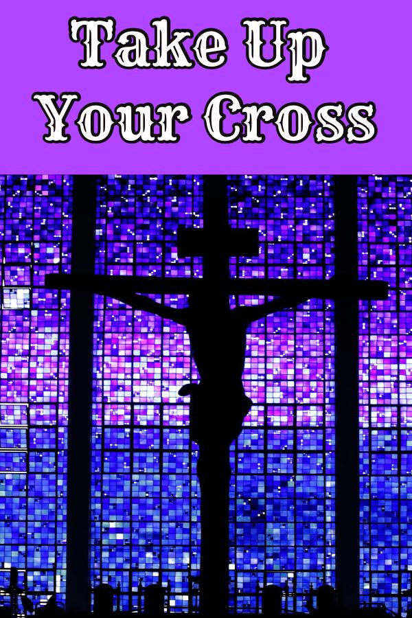 cross, Lent, stations of the cross, Jesus, suffering, take